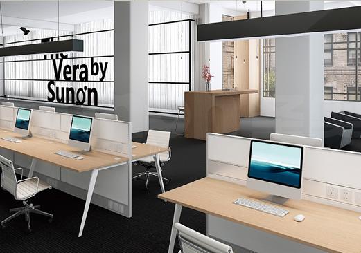 辦公家具-VERA/屏風工作位
